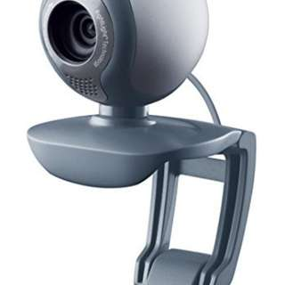 Logitech C500 1.3 megapixel webcam with built in microphone
