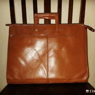Briefcase Leather Storument