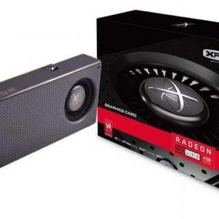 XFX RX480 Black Edition OC 8GB