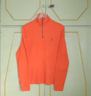 Authentic Ralph Lauren Half Zip Pullover Sweater