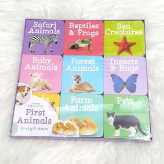Baby Board Books - Animals
