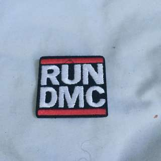 RUN DMC iron on patch