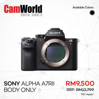 SONY Alpha A7R Mark II Body Only