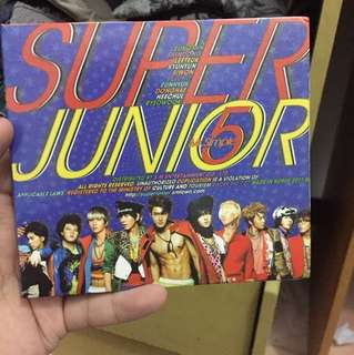 CD super junior mr simple 5th album