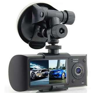 Genuine HD R300 Driving recorder Dual-lens 1080p Wide-angle ( INSTOCK ) CODE: CAM 1