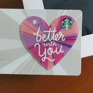 Starbucks Singapore - Starbucks Valentines Day Card 2018
