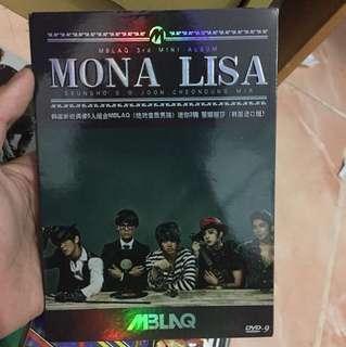 Dvd Mblaq 3rd mini album monalisa
