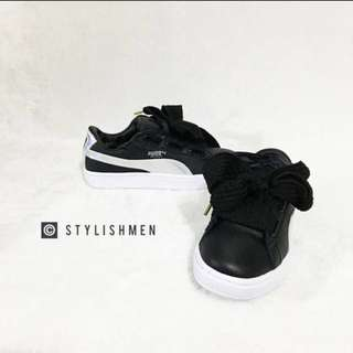 Puma Basket Heart Holographic Sneaker