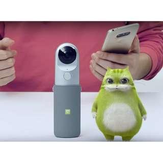 LG 360 CAM 環景攝影機 LG - R105 可支援 iphone, Android 系統 100%全新原封