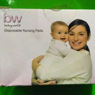 Babyworld Disposable Nursing Pads / 10 pads for Php40