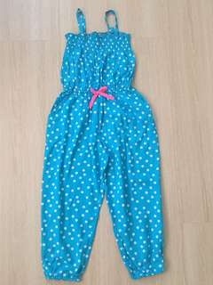 🆕 Blue Polkadot Long Jumpsuit