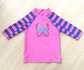 Butterfly Swimwear Top