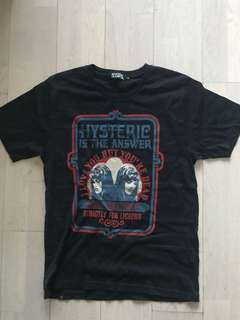 Hysteric glamour Tee Men M size