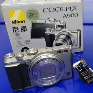 Nikon Coolpix A900 (Sliver)