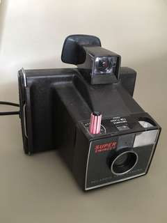 Vintage Polaroid land camera Super Swinger