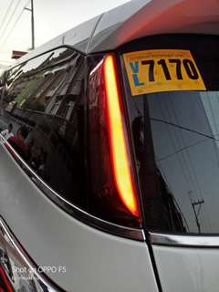 Fortuner 2016 to 2018 Tail light extension