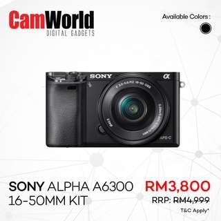 SONY Alph A6300 16-50mm Kit