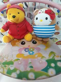 Free mailing winnie the pooh and hello kitty