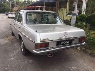 Mercedes w114 w115 230.6 limited rare