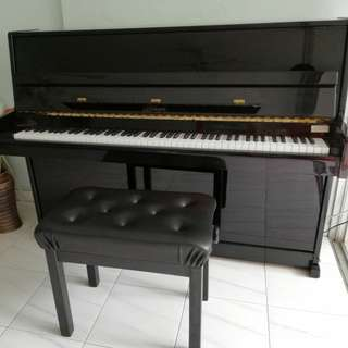 Bohemia upright piano