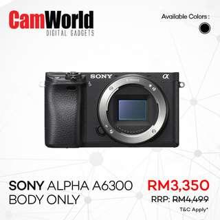 SONY Alpha A6300 Body Only
