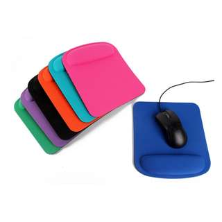 Mouse Pad Wrist Support Model 002 (Various Colours Available)
