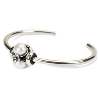 Trollbeads Bangle 連 Pearl charm
