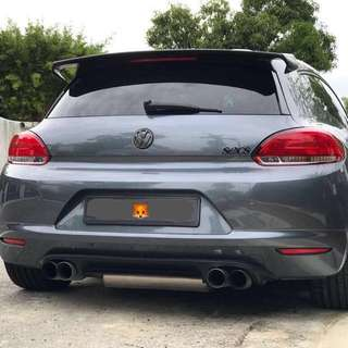 Fox catback for scirocco