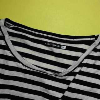 Stripe Long Sleeve Top (TAGS: ZARA , H&M, TOPMAN)
