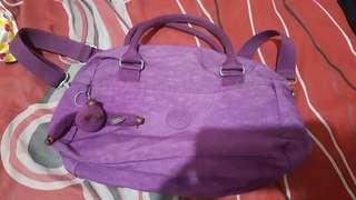 Kipling Purple Bag Original