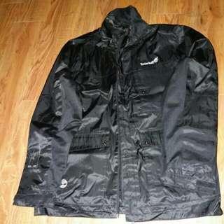 Timberland 黑色防風外套 L