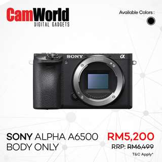 SONY Alpha A6500 Body Only