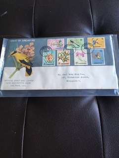 10.3.63. Spore FDC New Definitive Issue