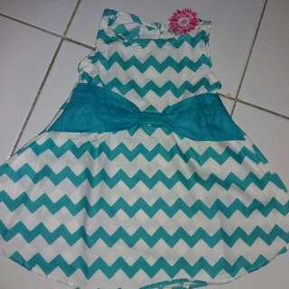 Dress Bayi 0-6 bln Brand Flowers Kids