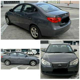 Hyundai Avante for Rent $330/week (Uber Grab Ready)