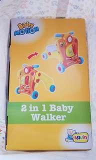 BNIB Bruin 2 in 1 Baby Walker