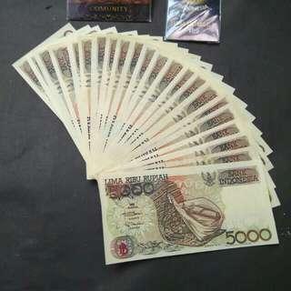 Uang jadul 5rb sasado