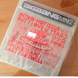 "Kpop CD ""Big Bang"""