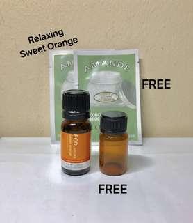 ECO. AROMA Sweet Orange of PHARMACEUTICAL GRADE. 100% PURE ESSENTIAL OIL. 10ML.  Brand New. AUTHENTIC