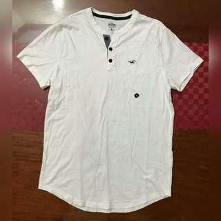 Hollister Button Shirt (White)
