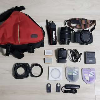 Canon 650D with 18-135 IS [Free Bundle of Stuff]