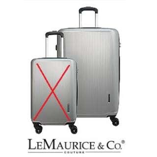 全新 LE MAURICE 28吋行李喼 旅行箱 一個