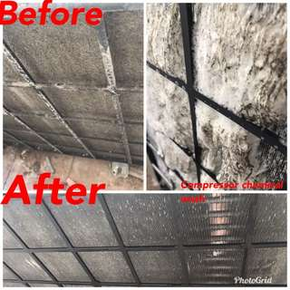 Air conditioning cleaning services