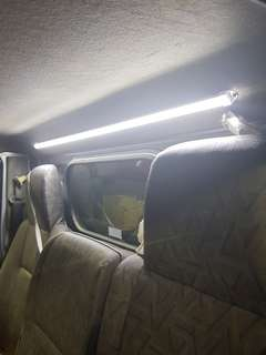 Roof led light for Nissan Cabstar