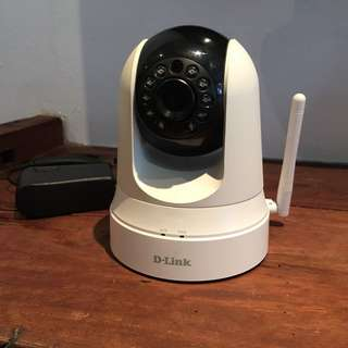 D-Link Wireless Pan & Tilt Day/Night Cloud Camera DCS-5020L