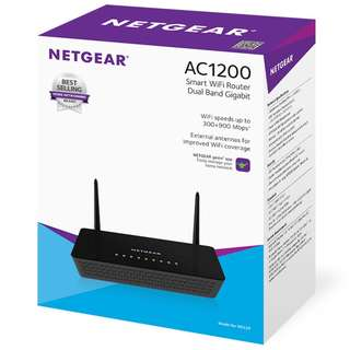 [Brand New] NETGEAR R6220 Smart WiFi Router (AC1200, Dual Band Gigabit)