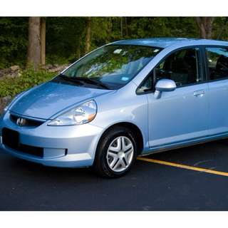 Honda Fit for rental