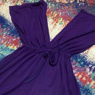 Purple Bikini Cover Up