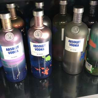 Liquor Absolut Unique