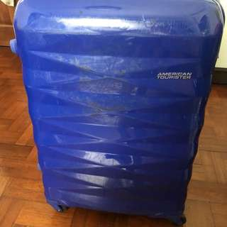 American Tourister luggage Used but in good working condition. Size 62cm x 44cm x 30cm